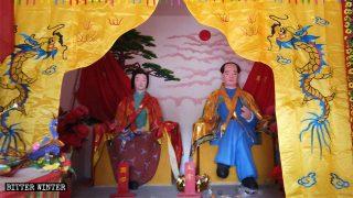 Attività religiose sostituite dal culto di Mao Zedong