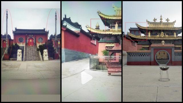 """Il tempio Huiquan una volta """"sinizzato"""""""