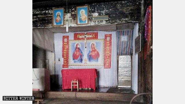 La cappella Xiaonanmen