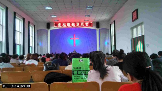 La comunità di questa chiesa controllata dallo Stato ha perso il proprio luogo di culto
