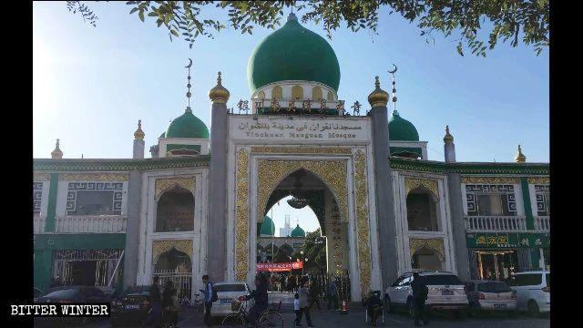 La grande Moschea Nanguan a Yinchuan