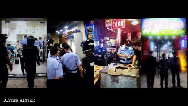 Le attività degli uiguri a Xiamen vengono ispezionate spesso