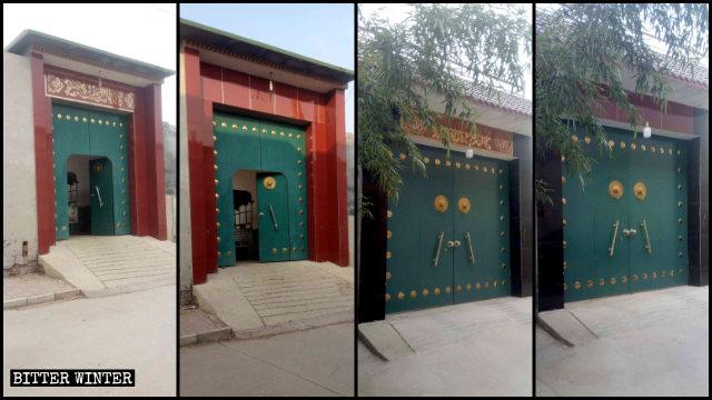 Le dua sono state rimosse da tutte le case del villaggio di Penjiazhuang