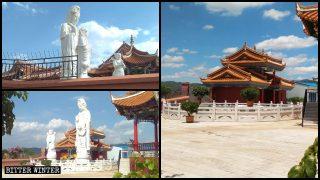 Statue buddhiste rimosse dai templi e dai siti turistici
